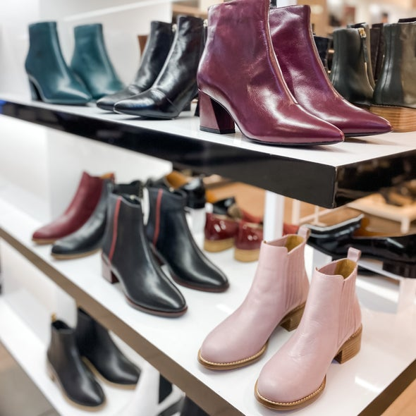 Angle Image for Lambton Leather Ankle Boot