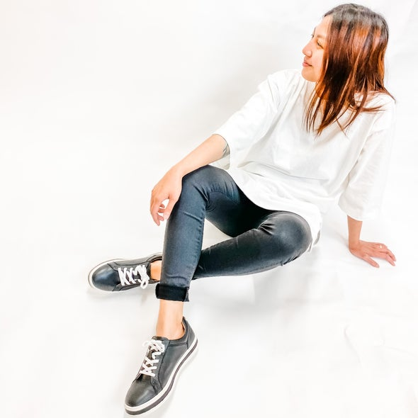 Angle Image for Lana Lace-up Sneaker
