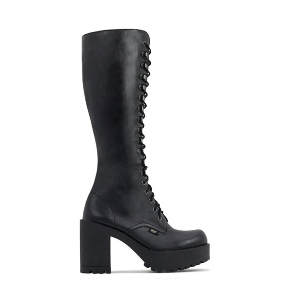 Hero Image for Lash Leather knee high laceup boot