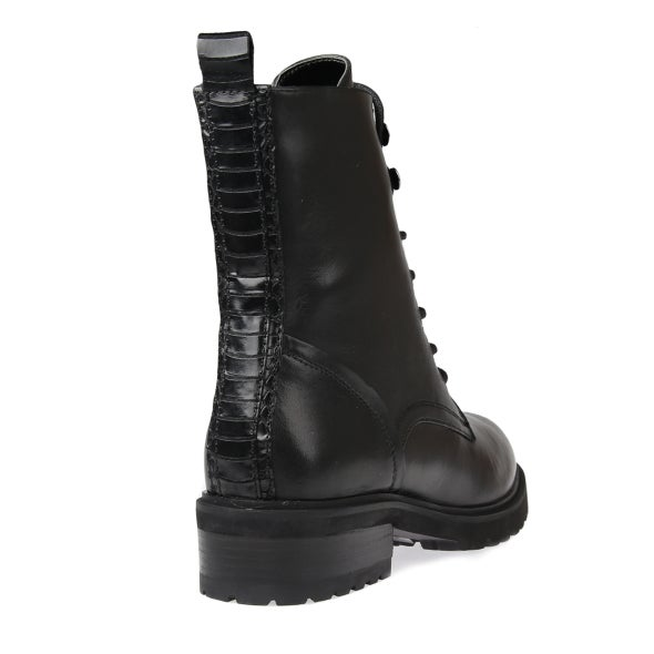 Back Image for Lavio Leather Lace up Boot