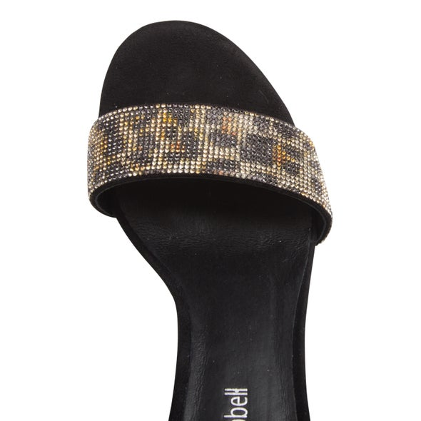 Top Image for Lindsay Leather Diamante Heel