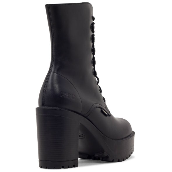 Back Image for Lush Leather lace up Boot