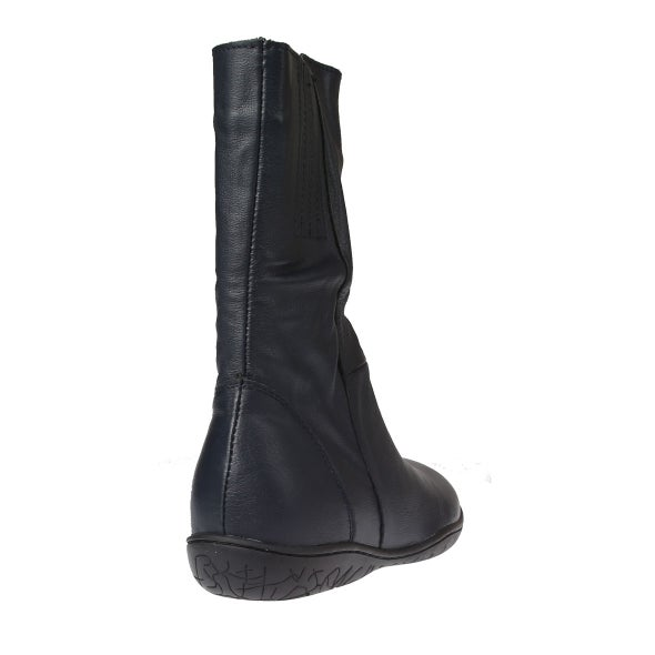 Back Image for Manie Leather Mid-Calf Boot