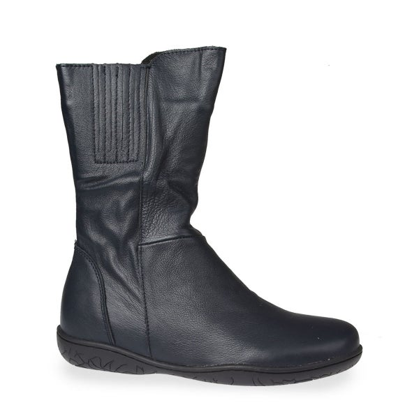 Hero Image for Manie Leather Mid-Calf Boot