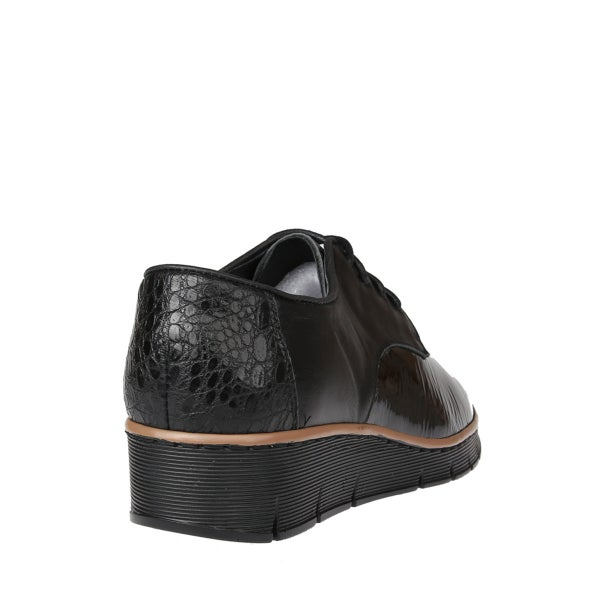 Back Image for Melvin Patent Leather Lace up Shoe