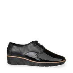 Melvin Patent Leather Lace up Shoe