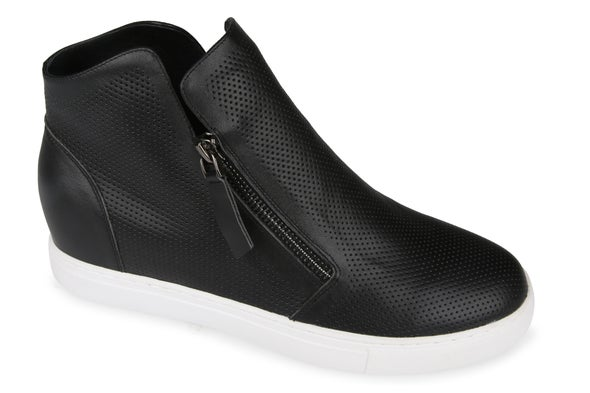 Angle Image for Mia Leather High-Top Sneaker
