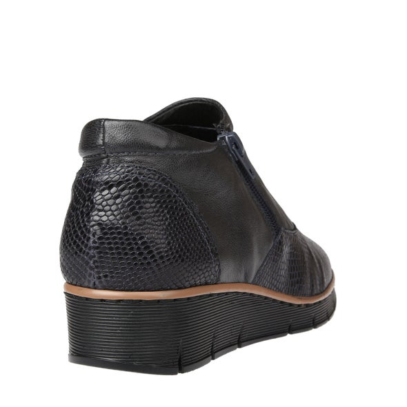 Back Image for Mindy Leather Ankle Boot