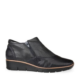 Mindy Leather Ankle Boot