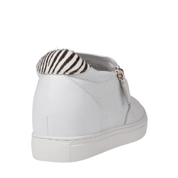 Back Image for Mini Leather Low Top Sneaker