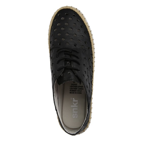 Top Image for Oakes Punched Leather Shoe