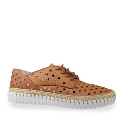 Oakes Punched Leather Shoe