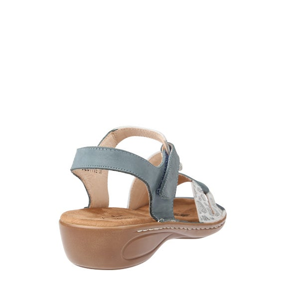 Back Image for Objective Strappy Leather Sandal