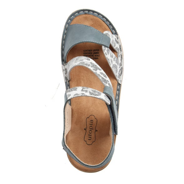 Top Image for Objective Strappy Leather Sandal