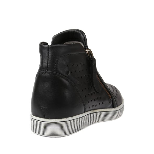 Back Image for Oleena Leather High-Top Sneaker