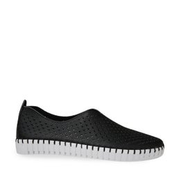 Oportunio Punched Leather Sip-on Shoe