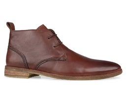 Player Leather Lace-up Boot