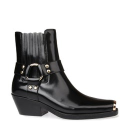 Poker Leather Boot