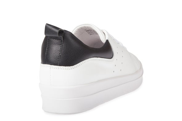 Back Image for Remy Leather Lace-up Sneaker
