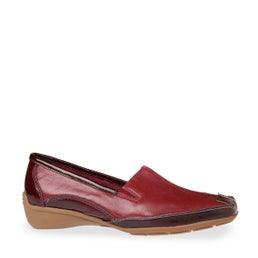 Rubies Leather Slip-on Shoe