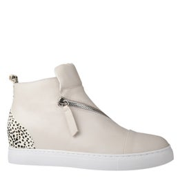 Ruby Leather High-top Sneaker
