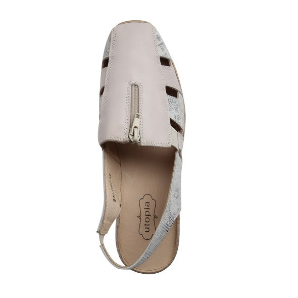 Top Image for Salome Sling-back Leather Shoe