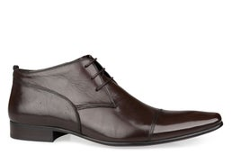 Saville Row Leather Lace-up Boot