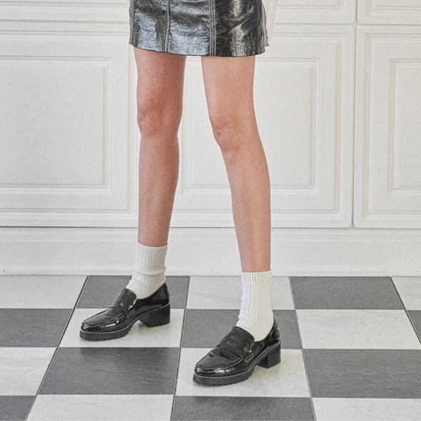 Angle Image for Selina Patent Leather Loafer