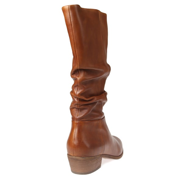 Back Image for Solange Leather calf boot