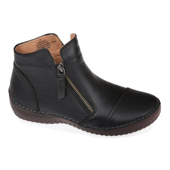 Angle Image for Superior Leather Ankle Boot