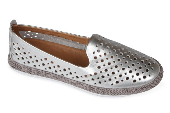 Angle Image for Tango Punched Leather Slip-on Shoe