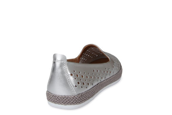 Back Image for Tango Punched Leather Slip-on Shoe