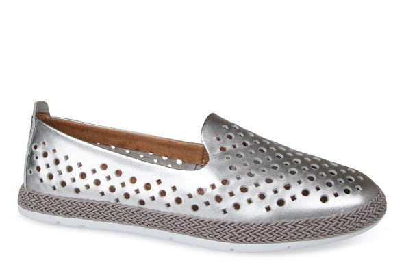 Hero Image for Tango Punched Leather Slip-on Shoe
