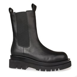 Tanked Leather Boot