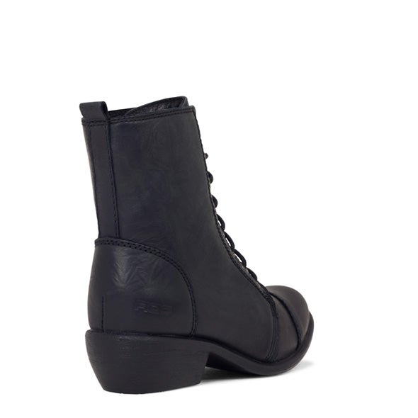 Back Image for Territory Leather lace up Boot