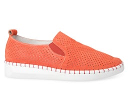 Thrive Punched Leather Slip-on Shoe