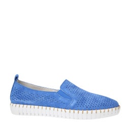 Trancend Punched Leather Sip-on Shoe