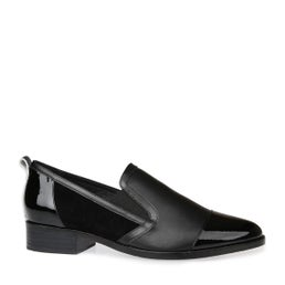 Wendy Leather Slip On Shoe