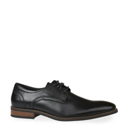 Whale Leather Lace-up Dress Shoe