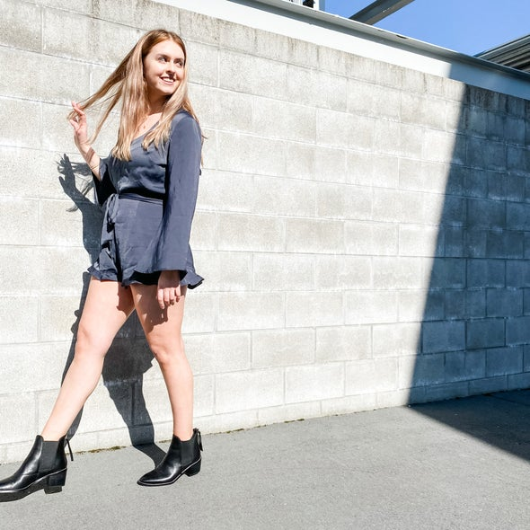 Angle Image for Winston Leather Ankle Boot