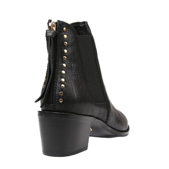 Back Image for Wisdom Leather Ankle Boot